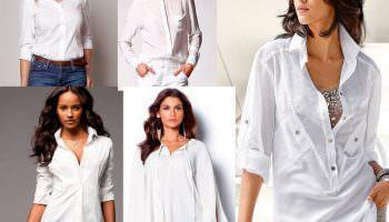 Cette chose devrait être dans la garde-robe de chaque femme! Nous sélectionnons une blouse blanche!