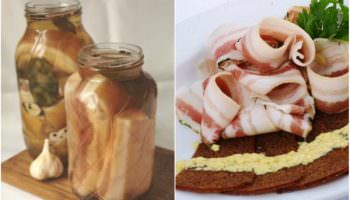 Bacon en saumure - une manière de saler signature! Des saveurs irréelles!
