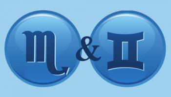 Compatibilité des signes Scorpion + Gémeaux dans l'amour et l'amitié