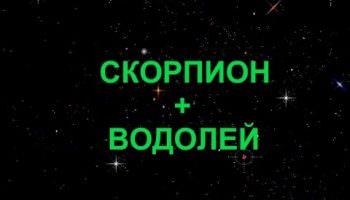Compatibilité signe Scorpion + Verseau dans l'amour et l'amitié