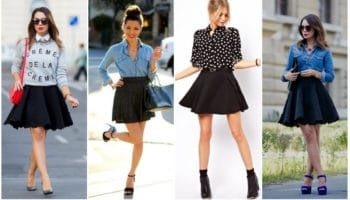 Que porter avec une jupe pare-soleil? (50 photos)