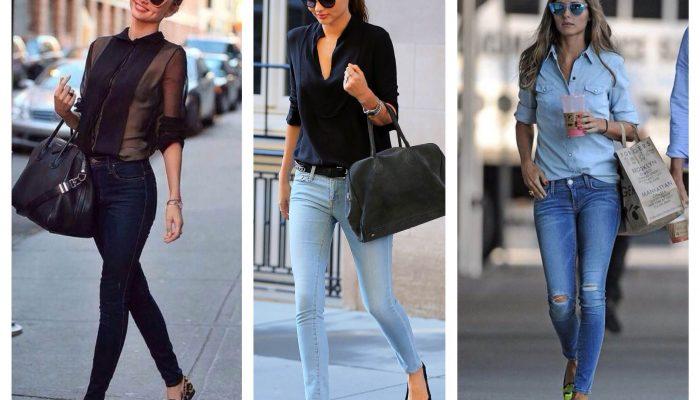 Que porter avec un jean skinny? (50 photos)
