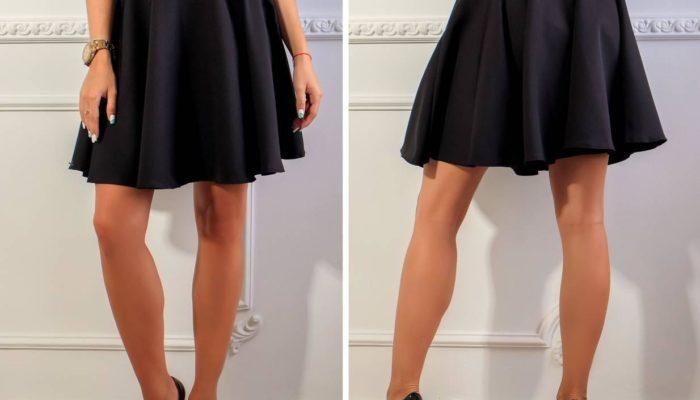 Comment porter une jupe évasée (52 photos)