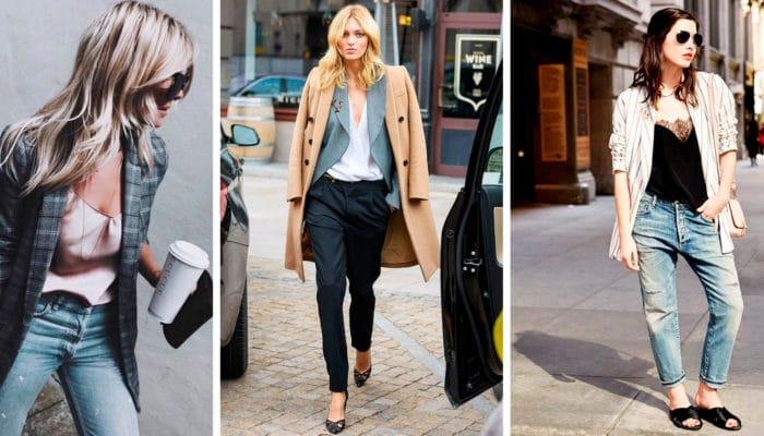 Quoi porter avec un top en lin (55 photos)