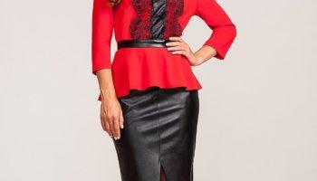 Comment porter une blouse rouge (54 photos)