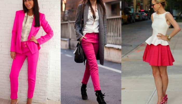 Quoi porter avec des couleurs fuchsia (53 photos)