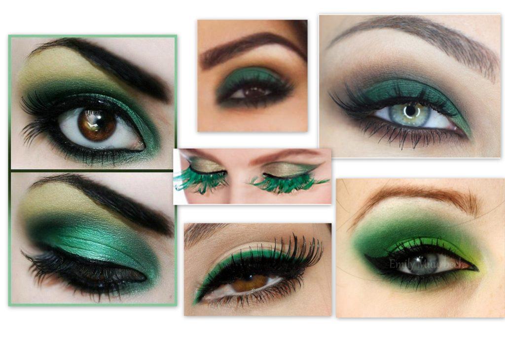 La luminosité du maquillage vert (51 photos)