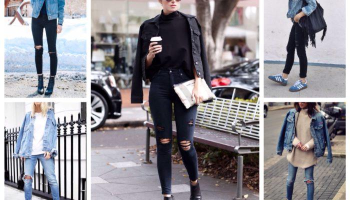 Comment porter une veste en jean (51 photos)