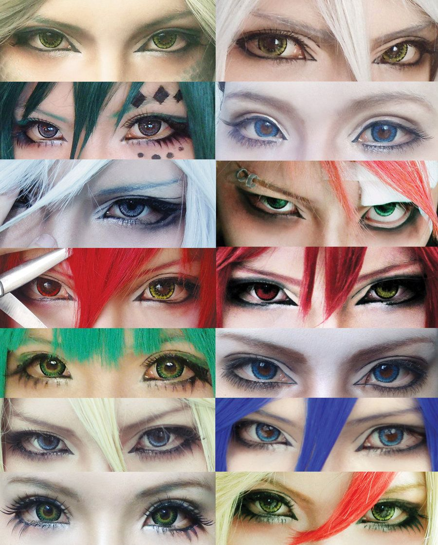 Maquillage Anime (40 photos)
