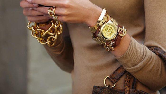 Comment combiner les montres des femmes (50 photos)