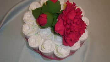 Gâteau de couches bricolage: pour les filles et les garçons