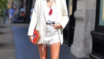 Short blanc pour un look élégant (50 photos)