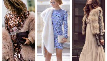Que porter avec un manteau de fourrure artificielle: combinaisons harmonieuses et élégantes (45 photos)