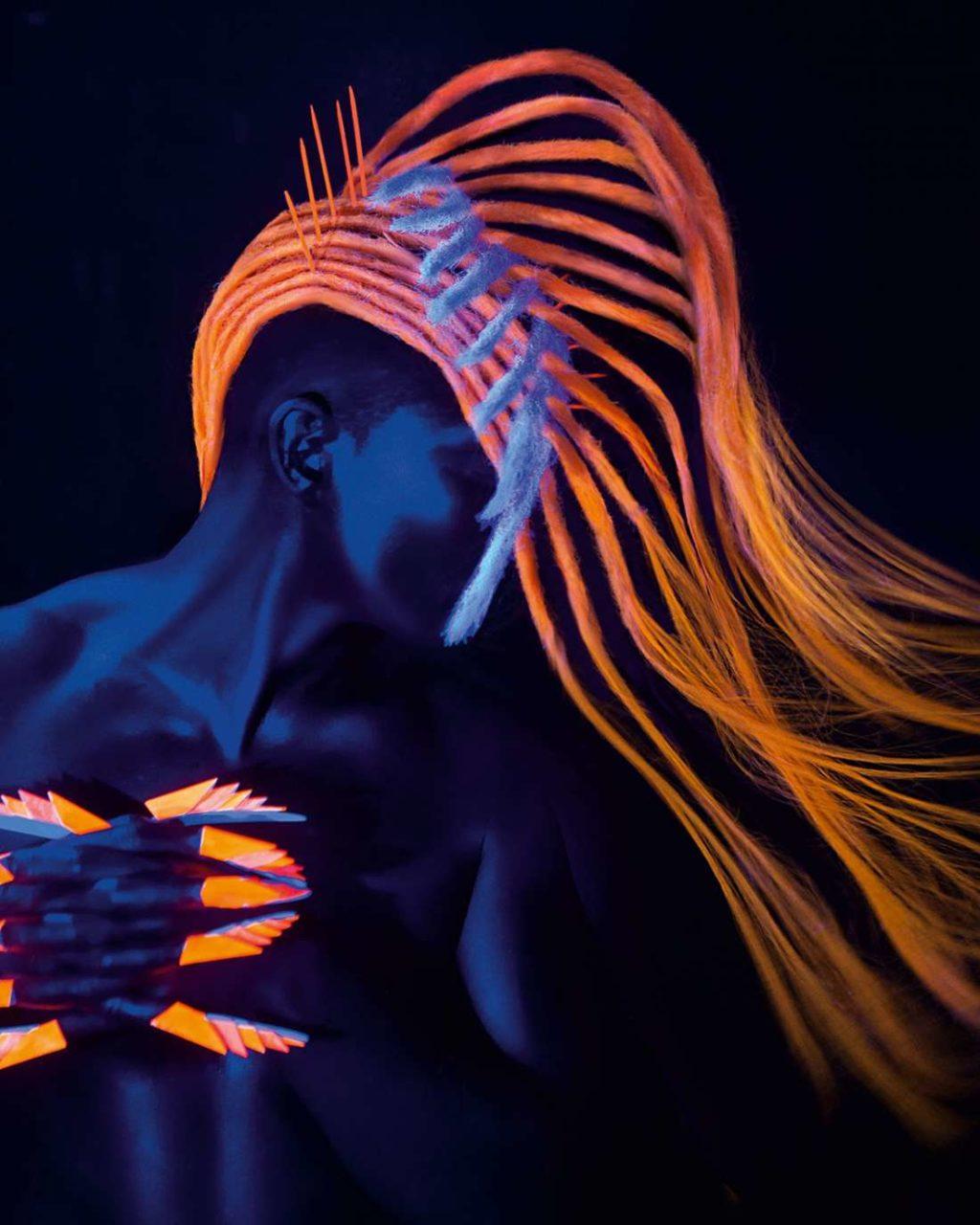 Coloration des cheveux au néon (51 photos)