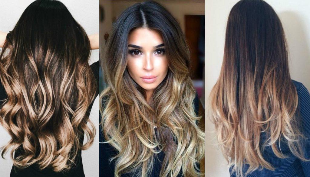 L'effet des cheveux brûlés sur les cheveux noirs et bruns (50 photos)