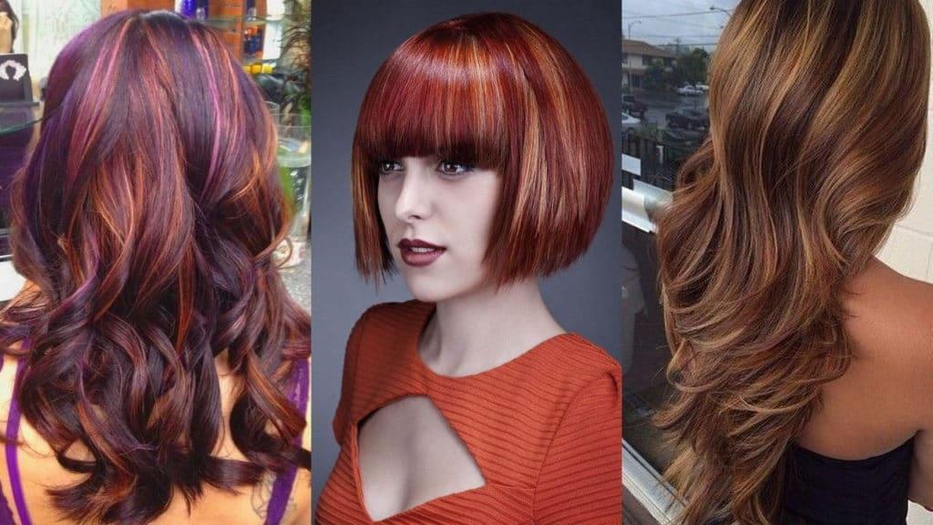 Types de coloration des cheveux: 19 variétés avec description (200+ photos)