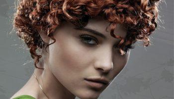 Perm pour cheveux courts: version légère et grande (50 photos)