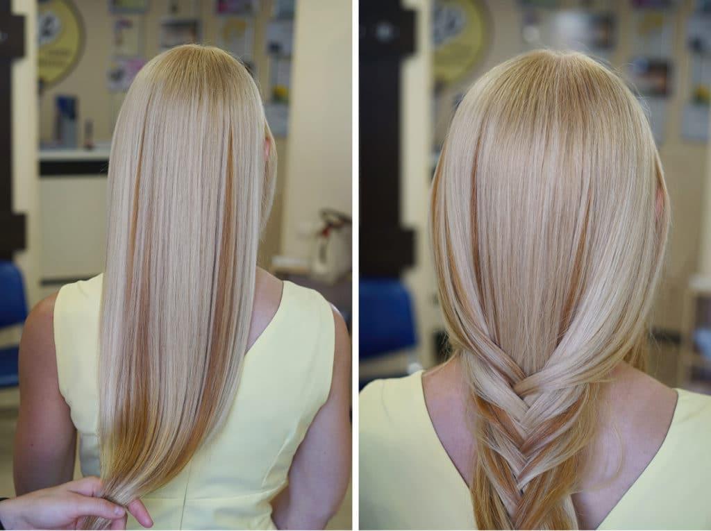 Couleur d'étirement: pour différentes longueurs de cheveux, ainsi que pour différents types de teinture (60 photos)