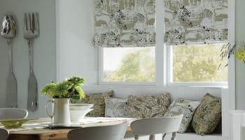 Modèles de rideaux pour la cuisine