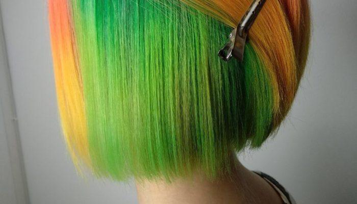 Coloration cachée des cheveux (50 photos)