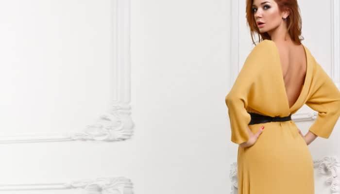 Comment porter des robes avec le dos ouvert (51 photos)