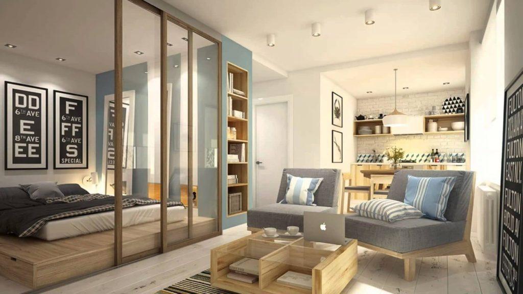 Idées de design d'intérieur pour un petit appartement (51 photos)
