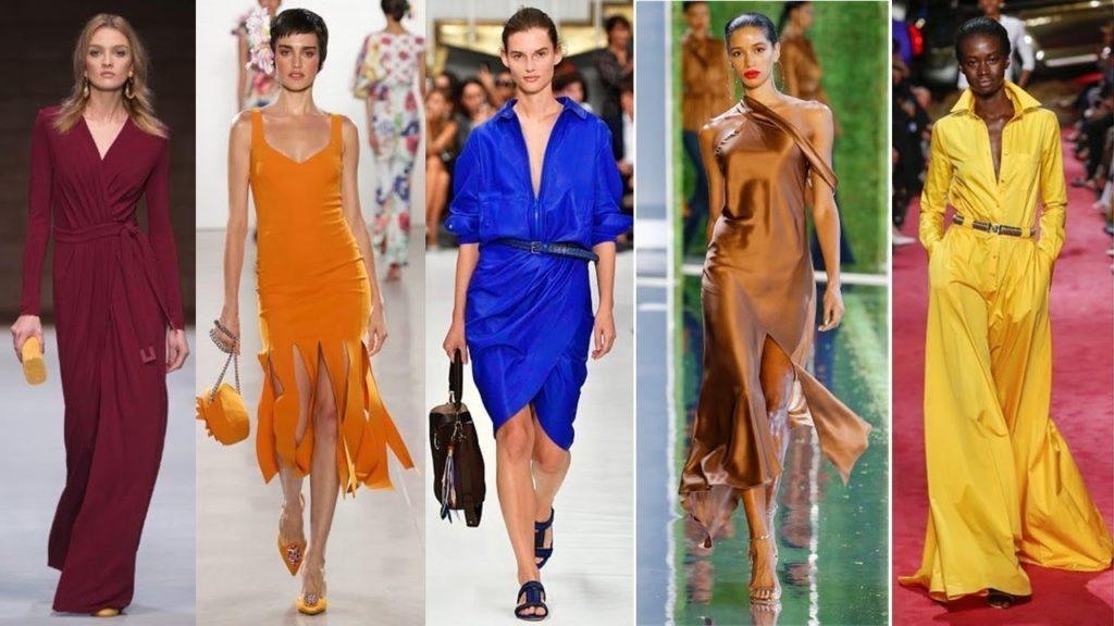 Couleurs à la mode dans les vêtements en 2019 (53 photos)