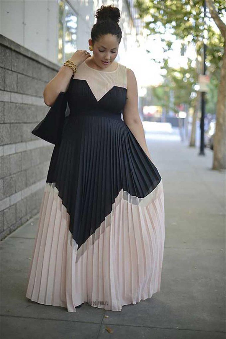 Mode pour les femmes obèses de plus de 50 ans (50 photos)